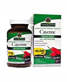 Nature's Answer Cayenne Pepper Vegetarian Capsules, 90-Count For Sale