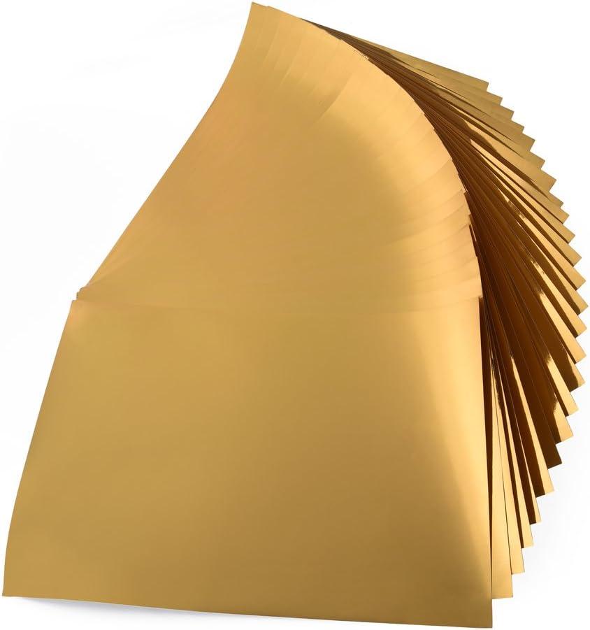 280 gr 10feuilles Papier m/étallis/é A4 21x30 cm argent