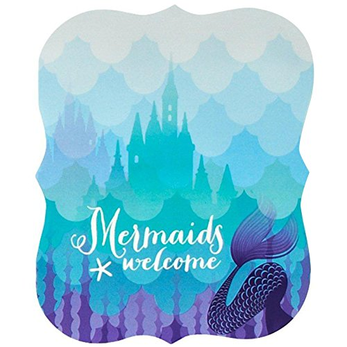 Mermaids Under the Sea Party Supplies - Invitations (8)