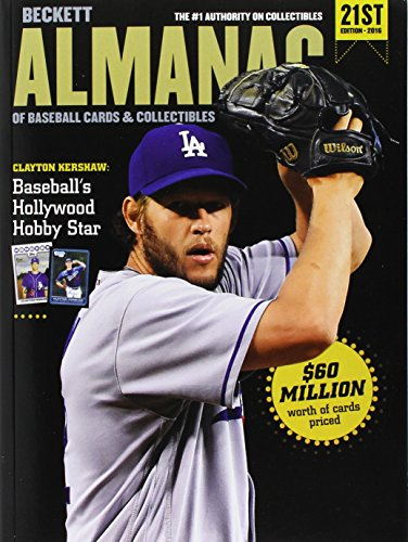 Beckett Baseball Almanac #21 (Beckett Almanac of Baseball Cards and Collectibles) Baseball Cards Collectibles