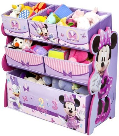 Disney Multi-Bin Toy Organizer, Minnie Mouse by Bobfriend