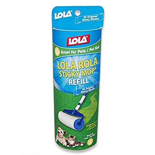 Lola Products 903 Rola Sticky Mop Refill; 6pack; New;