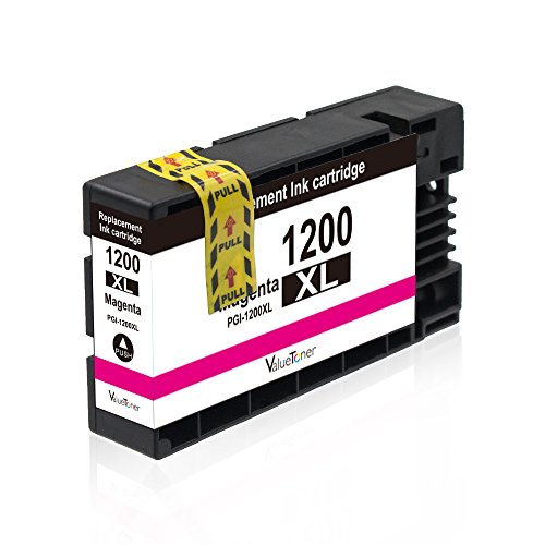 Valuetoner Replacement PGI-1200 XL 1200XL Compatible Ink Cartridge for Maxify MB2320 MB2020 MB2350 MB2050 MB2120 MB2720 Inkjet Printer, 5 Pack (2 Black, 1 Cyan, 1 Magenta, 1 Yellow) Photo #6