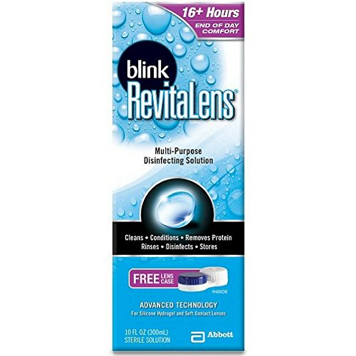 - Blink RevitaLens Multi-Purpose Disinfecting Solution 10 Ounces