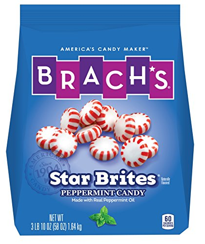 (Brach's Star Brite Candy, Peppermint, 110 Count,Pack of 1)