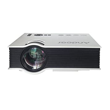 Andoer UC40 - Proyector (1080p, 800:1, TFT), color blanco: Amazon ...