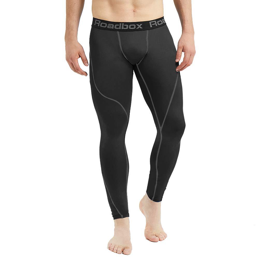 1082d6ab5 Amazon.com: Roadbox Men's Compression Pants Base Layer Cool Dry Tights  Leggings: Clothing