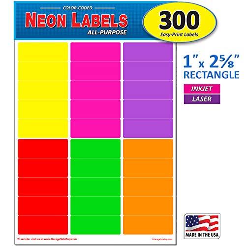 Colored File Folder Labels - 3