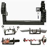 All Season Multi-Purpose 3-PLACE Carrier Rack Holder ATV Snowmobile UTV Mount For Metal or Composite Rack (For Polaris UTV COMPOSITE Rack)