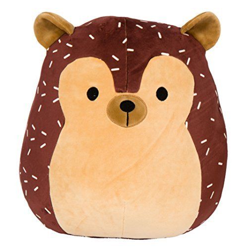 Kellytoy Squishmallow 8 Inch Hans the Hedgehog Super Soft Plush Toy ()