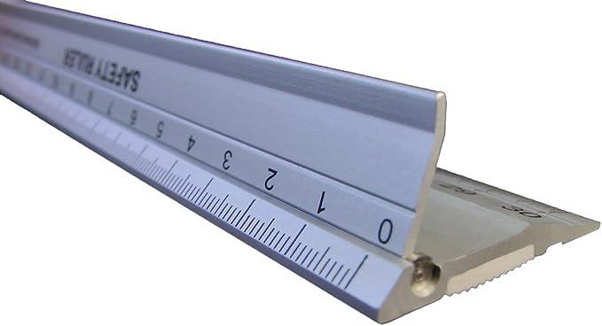 Jakar Precision Heavy Duty Steel Rule 12inch//30cm