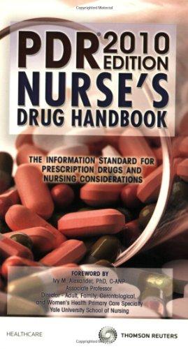 PDR Nurse's Drug Handbook 2010