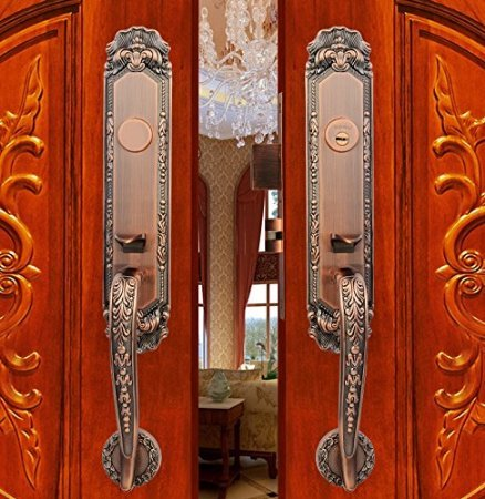 K6838 Luxurious Mortise Lock Entry Entrance Front Door