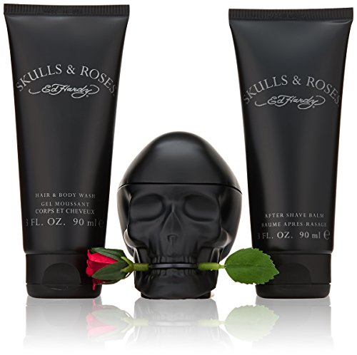 Ed Hardy Skulls and Roses Fragrance Set, 3 Count by Ed Hardy