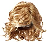 Hairdo Hairuwear Raquel Welch Brave The Wave Collection With Shoulder Length Modern Scrunched Soft Wavy Chic Hair, R25 Ginger Blonde