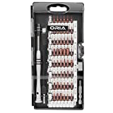 ORIA Screwdriver Set, Magnetic Driver Kit, S2 Steel 60 in 1 Precision Screwdriver Kit, Professional Electronics Repair Tool Kit, Flexible Shaft, for iPhone/ Smartphone/ Game Console/ Tablet/ MacBook