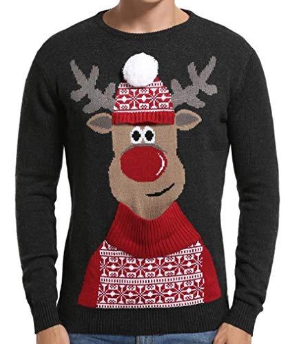 Daisysboutique Men's Holiday Reindeer