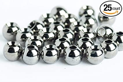 Tungsten Fly Tying Beads Nickel  of  7//64  FREE SHIPPING 20
