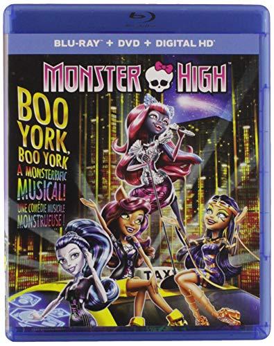 (Monster High: Boo York, Boo York (Include a Keepsake Pouch) (Blu-ray + DVD))