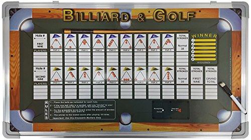 (Sterling Gaming Billiard & Golf Wall Mounted Scoreboard Game)