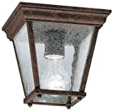 Kichler 9859TZ Outdoor Ceiling 1-Light, Tannery Bronze