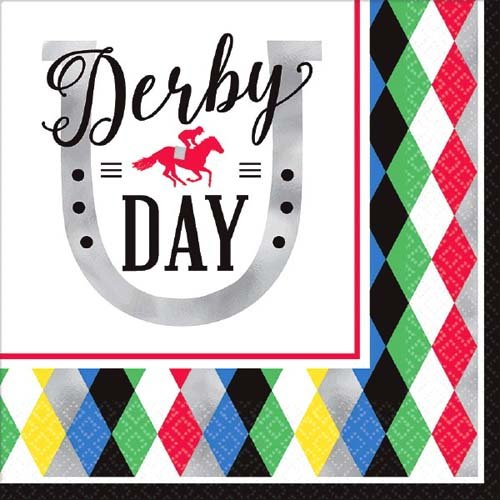 Kentucky Derby ' Derby Day ' Lunch Napkins ( 16ct ) B07B844RXT