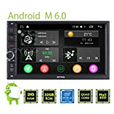 JOYING 7'' Double Din for Nissan Android 6.0 Intel System Quad Core Touch Screen Car Stereo Head Unit with Bluetooth MirrorLink Indash Auto Radio Receiver Navigation GPS