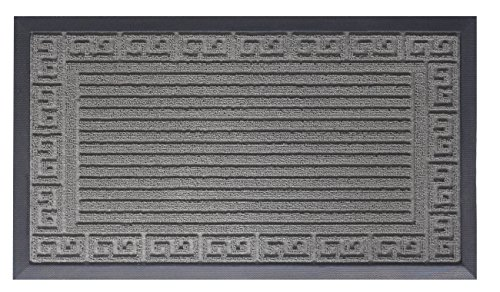oversize-doormat-shoe-scraper-easy-clean-soft-texture-greek-key-design-grey