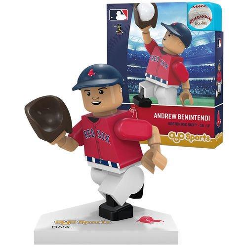 Oyo Sportstoys MLB Boston Red Sox Andrew Benintendi Generation 5 Minifigure, Small, White