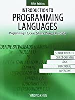 Introduction to Programming Languages, 5th Edition Front Cover