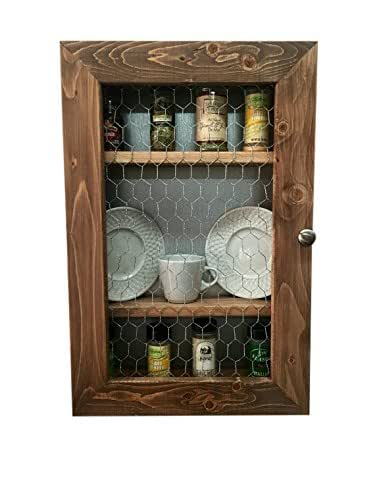 Amazon Com Rustic Kitchen Cabinet Kitchen Storage Spice