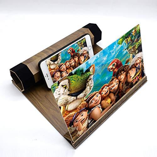 (KKDWJ 3D Phone Screen Magnifier 12