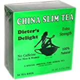 China Slim Tea Dieter's Delight 36 TEA BAGS NET WT 3.17 OZ (90 g)