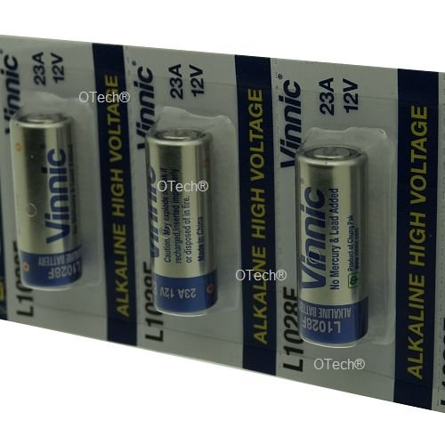 Vinnic Pack de 5 batterys L1028F by Vinnic