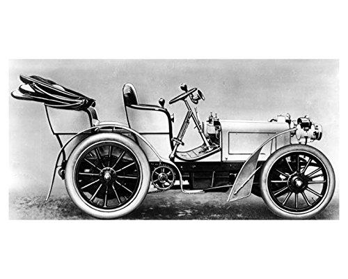 1901 Mercedes Daimler 35 HP Nice Race Car Factory Photo