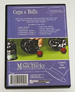 Amazing Easy to Learn Magic Tricks: Cups and Balls with DVD, Coin Tricks DVD, Pro Brand Bridge Size Svengali Deck with DVD, Emerson and West's The Shaggy Dog Tale Packet Trick