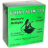 China Slim Tea Dieter's Delight 36 TEA BAGS NET WT 3.17 OZ (90 g)