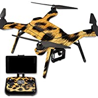 MightySkins Protective Vinyl Skin Decal for 3DR Solo Drone Quadcopter wrap cover sticker skins Cheetah