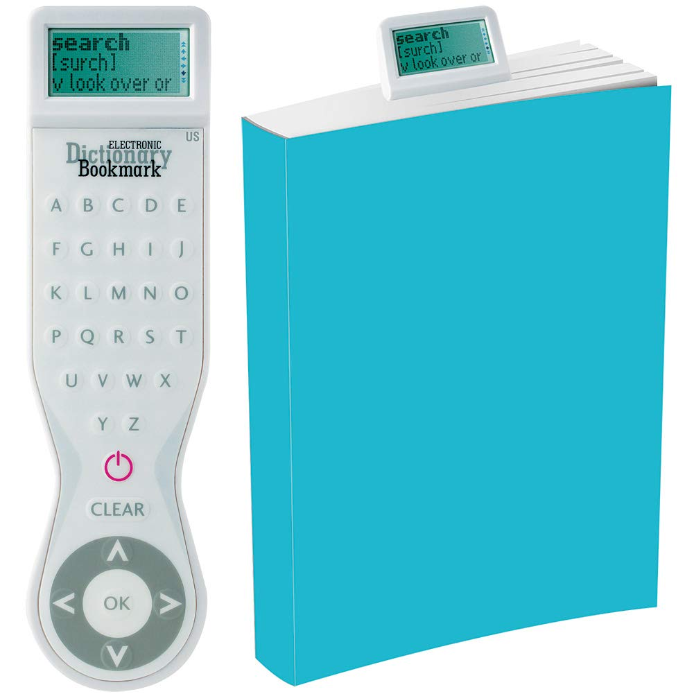 Electronic Dictionary Bookmark - (USA) White That Company Called If