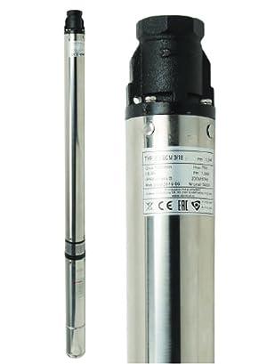Bomba sumergible 3,5SC 2/14, 70L/min, 1100W, 400V, triphasée