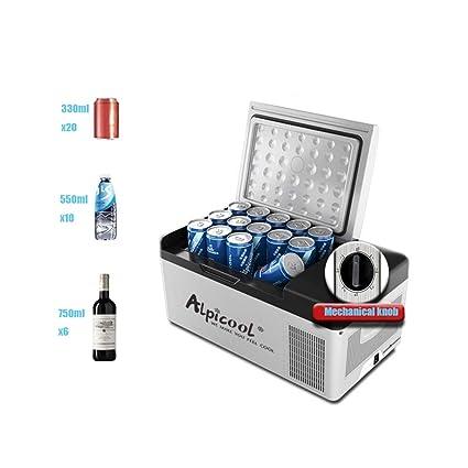 Amazon.es: Nevera eléctrica de 15 litros, refrigerador pequeño ...
