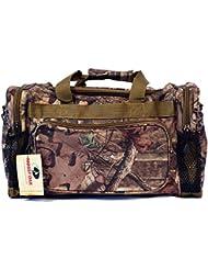 20 Mossy Oak Camo Duffel Bag Shoulder Hunting Travel Luggage Tactical Range Gear Bag