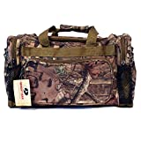 Cheap 20″ Mossy Oak Camo Duffel Bag Shoulder Hunting Travel Luggage Tactical Range Gear Bag