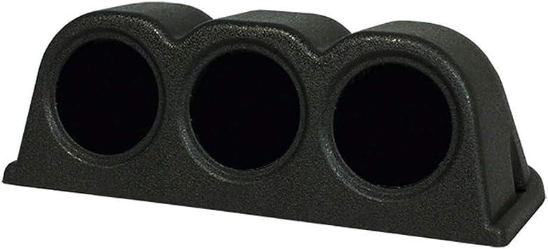 Universal 52mm//2 3 Hole Triple Dash Gauge Meter Pod Mount Holder Black Gauge Console Dashboard Pod