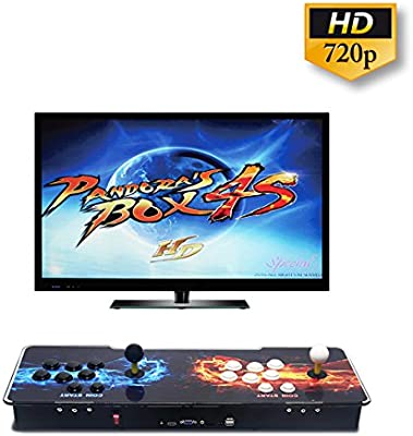 Amazon.es: Wisamic Pandora Box 4S 2 Jugadores Joystick ...