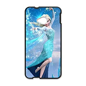 Happy Frozen lovely girl Cell Phone Case for HTC One M7