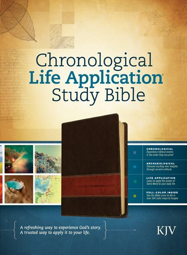 Chronological Life Application Study Bible KJV, TuTone