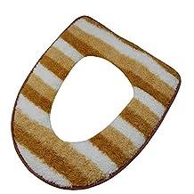 Warm Toilet Seats Covers Pads,Fashion Toilet Seat Mat (coffe)