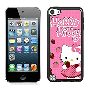 Personalized Design Ipod Touch 5 Hello Kitty 19 Cell Phone Cover Case for Ipod Touch 5th Generation Black