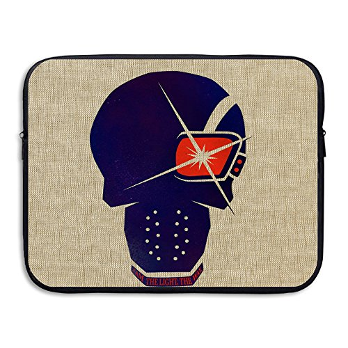 VOLTE Deadshot Suicide Film Squad Task Comic Force X Character Logo Shock-Resistant Tablet Sleeve Cover Bag Size 15 Inch